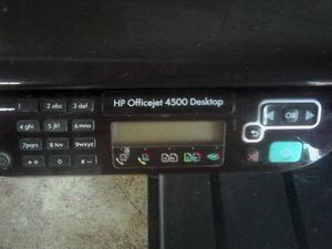 Impresora Multifuncional Hp Officejet  Desktop Usada