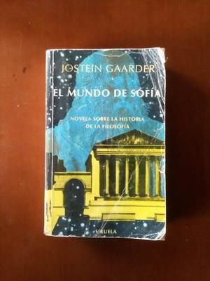Libro El Mundo De Sofía De Jostein Gaarder