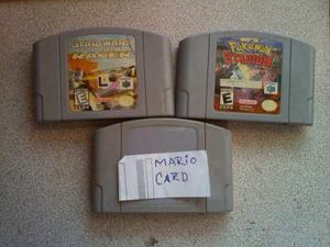 Cassette Nintendo 64 Grandes Titulos