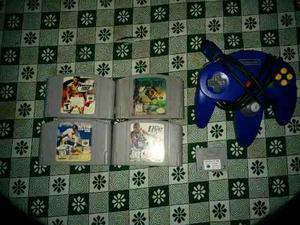 Control, Juegos Y Memoria De Nintendo 64