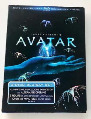 Espectacular Edición De Colección De Avatar 3 Discos