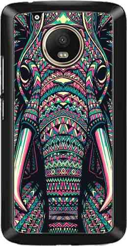 Forros Celulares Motorola Moto G5 Arte Animales Azteca