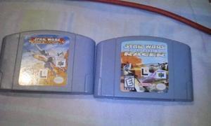 Juegos Nintendo 64 Star Wars Precio Por Ambos