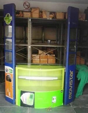 Mueble Exhibidores Para Stand O Tiendas De Celulares + Obseq