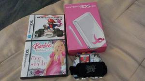 Nintendo Ds Lite Blanco Con Juegos