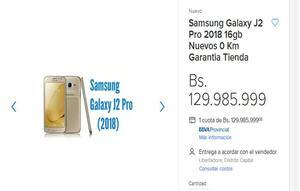 Samsung Galaxy J2 Pro gb Nuevos 0 Km Garantia Tienda