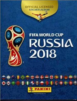 Album Oficial Mundial Rusia  Panini Pdf