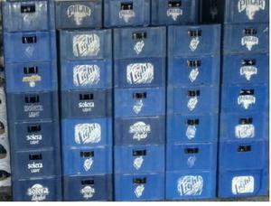Cajas De Cervezas Polar, Brahma, Regional Vacias