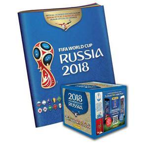 Combo Album + Caja De Barajitas Mundial Rusia  Oficial
