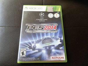 Juego Fisico Pes 14 Para Xbox 360 Original. Garantia