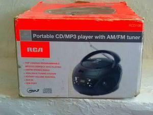 Radio Reproductor Portatil Cd Mp3 Usb