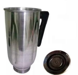 Vaso Licuadora Oster De Aluminio Con Tapa Laschimeneas