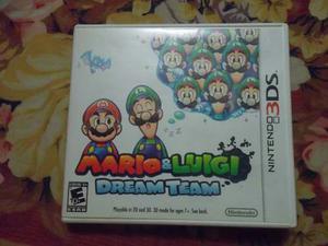 Juego De 3ds Mario Y Luigi Dream Team Usado