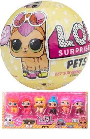 Mascotas Lol Con Accesorios Surprise! Lql Pets Serie 3