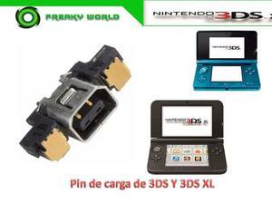 Pin Puerto De Carga De 3ds Y 3ds Xl Original Nuevo