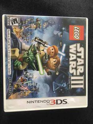 Star Wars Iii Lego 3ds