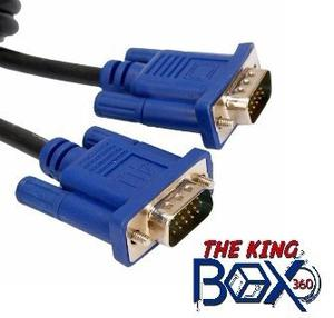 Cable Vga A Vga Macho/ Macho 3 Metros Marca Gio
