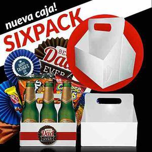 Caja Cotillon Sixpack Fiesta Eventos Regalos Decoraciones