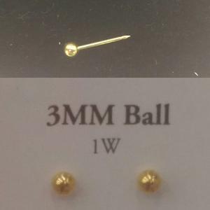 9148118a123a Combo zarcillo abridor importado oro 14 k
