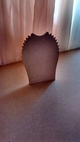 Exhibidor De Collares Mdf Crudo 15x20cm