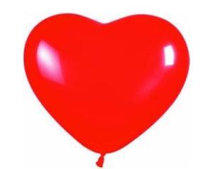 Globos En Forma De Corazón Geniales Para Enamorar O Decorar
