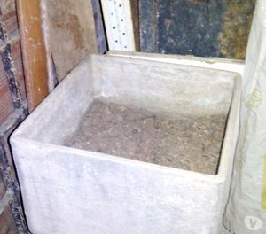 Matero Grande De Concreto 28x28 Centimetros Para Jardin