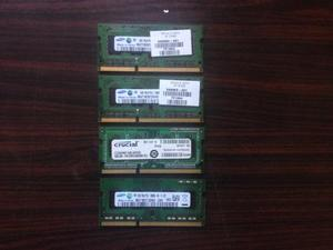 Memoria Ram Ddr3 Para Laptop Samsung 2gb mhz