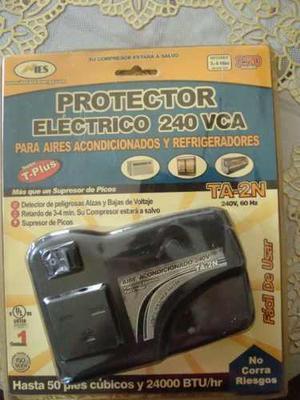 Protector Regulador 220v Aires Y Refrigeradores Con Toma