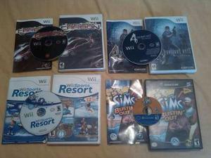 Combo Juegos Originales Wii Y Gamecube