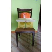 Silla Portatil Para Comer Fisher Price Amarillo Con Naranja