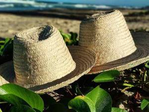 Sombrero playero hermoso promocion cassiopeia e3052a35f9b