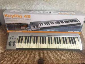 Teclado Controlador M-audio Keyrig 49