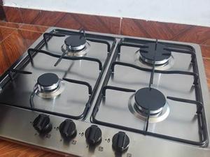 Tope De Cocina A Gas De Lujo Acero Inoxidable 4 Hornillas