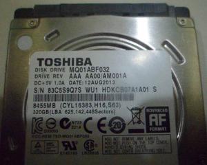 Disco Duro 320 Gb Toshiba Laptop 3.5. Remato