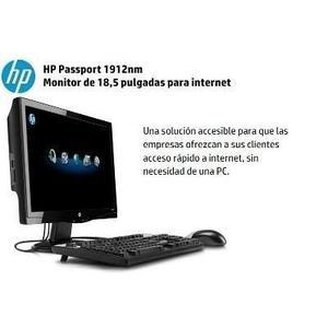 Monitor Hp Passport nm 18.5 Pulgadas Acceso Internet