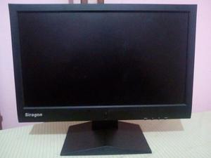 Monitor Siragon Lcd 17 Pulgadas Como Nuevo