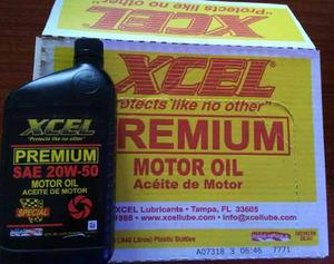 Aceite Mineral 20w50 Xcel Importado De Usa