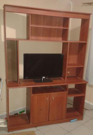 Centro De Entretenimiento Mueble Modular Para Tv En Mdf