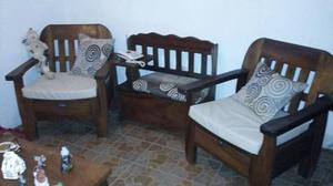Juego De Muebles Con Mesa De Centro Son 3 Piezas