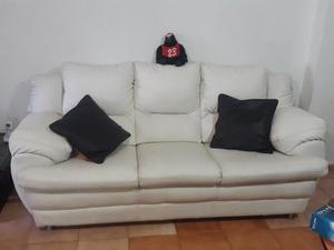 Juego De Recibo Sofa 2 Y 3 Puestos Mas Mesa De Centro