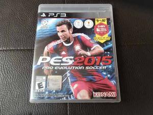 Juego Fisico Pes 15 Para Playstation 3 Ps3 Garantia