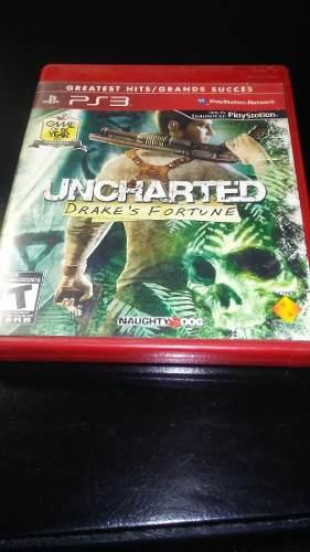 Juego Fisico Uncharted 1 Para Ps3