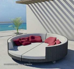 Juego Muebles Modulares Sala Comedor Sofá Cama Modernos