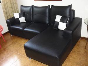 Muebles Modulares Tipo L En Semi-cuero Se Aceptan 150 $