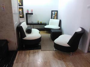 Muebles Poltrona Butaca Recibo Juego De Sala Tienda Física
