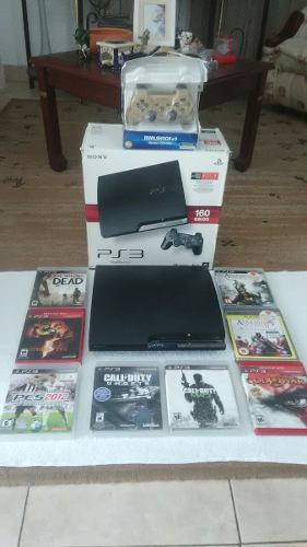 Play Station 3 Slim 160gb (como Nuevo)