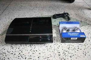 Playstation 3 Fat, 1 Control, 2 Juegos