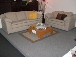 Sofa Muebles Juego De Sala Clasico Bipiel Tienda Física