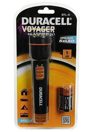 Linterna Led Duracell Voyager, Aa, Modelo: Stl-5
