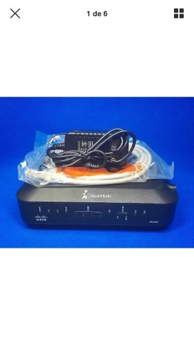 Cable Modem/router Cisco Telefonia/wifi 100% Inter Compatibl